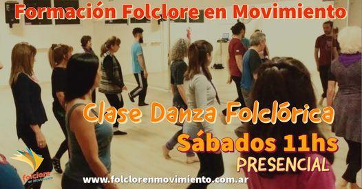 Clase Danza Folclórica-Formación Folclore en Movimiento | Event in Buenos Aires | AllEvents.in
