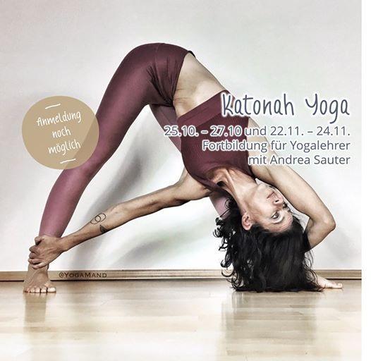 Katonah Yoga mit Andrea Sauter - Fortbildung fr Yogalehrer