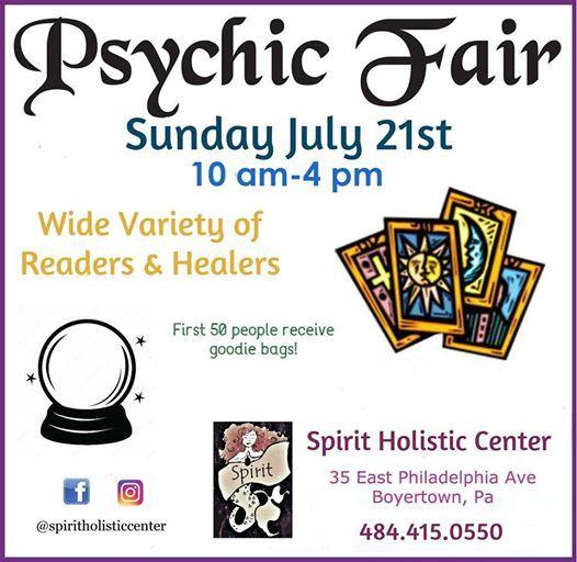 Summer Spirit Psychic Fair | Boyertown