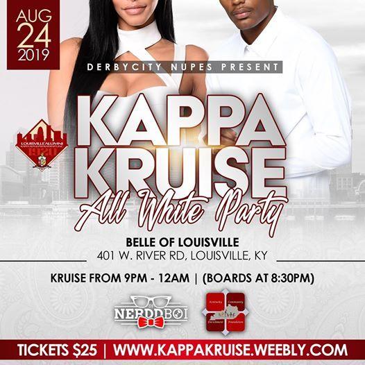 12th Annual Kappa Kruise All White Edition