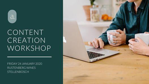 Content Creation Workshop