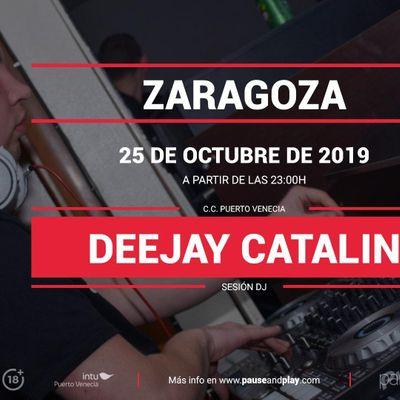 Sesin DJ Deejay Catalin en Pause&ampPlay Puerto Venecia