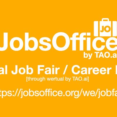 JobsOffice Virtual Job Fair  Career Expo Event Washington DC