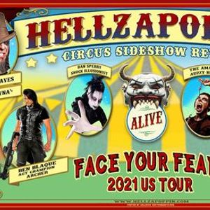 Hellzapoppin Circus FREAK SHOW at The Abbey Orlando