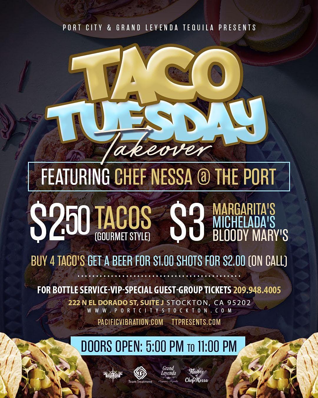 Taco Tuesday at Port City