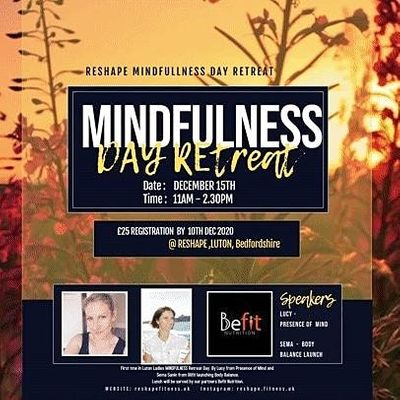 Mindfulness Day Retreat - Take a couple of hours for you.