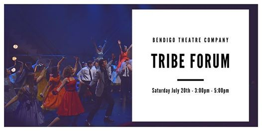 Tribe Forum at BTC Tribe Youth Theatre, Bendigo