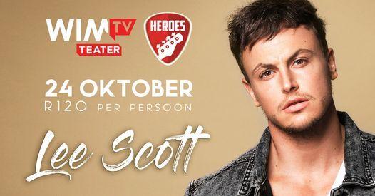 Lee Scott by Heroes Restaurant, 24 October | Event in Brackenfell | AllEvents.in