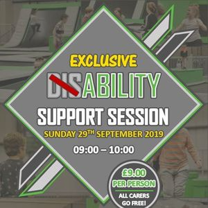 Disability Friendly Session at Ascent