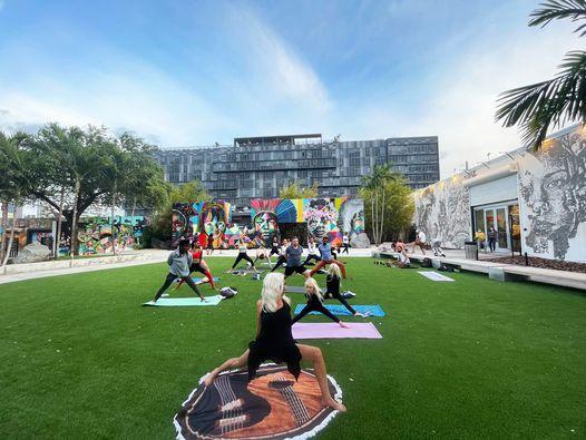 Open-Level Vinyasa Yoga In The Garden, 13 October   Event in Miami   AllEvents.in