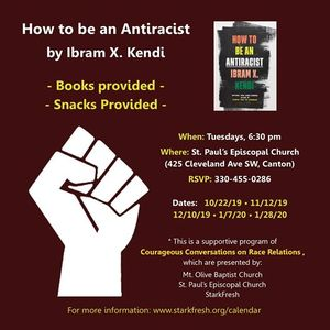 Social Justice Book Club  Book one  How to be an antiracist