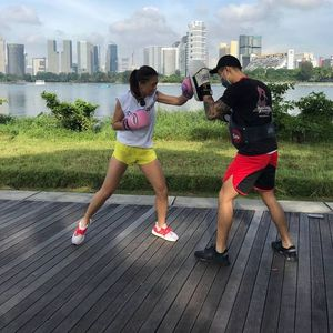 Muay Thai Outdoor Experiential Session