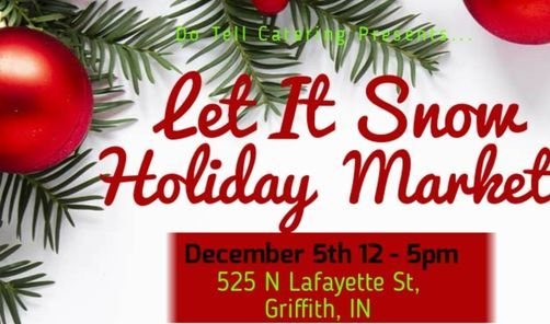 Let It Snow Holiday Market, 5 December | Event in Griffith | AllEvents.in