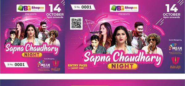 Bollywood Night with SAPNA Choudhary