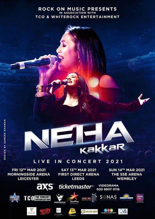 Neha Kakkar Live In Leeds 2021
