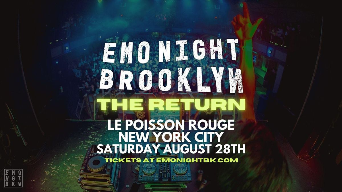 Emo Night Brooklyn, 28 August | Event in New York | AllEvents.in
