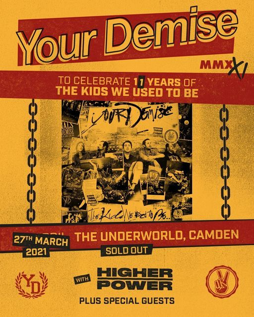 Your Demise - MMXXI at The Underworld // Re Scheduled, 27 March   Event in London   AllEvents.in