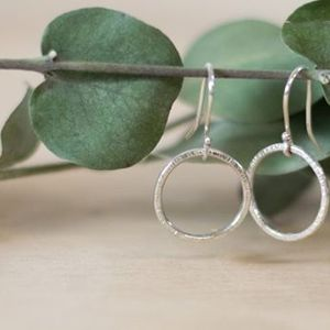 Make a pair of circlet earrings - 38.00