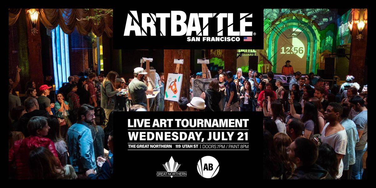 Art Battle San Francisco - July 21, 2021, 21 July | Event in San Francisco | AllEvents.in