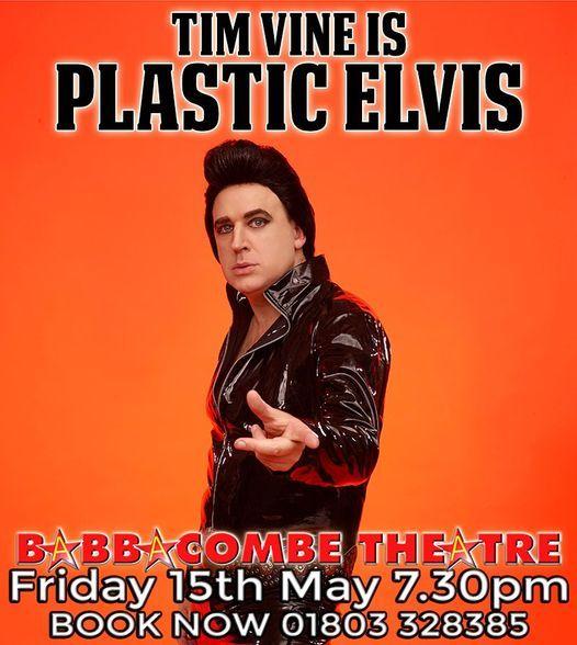 Tim Vine is Plastic Elvis, 2 October | Event in Torquay | AllEvents.in