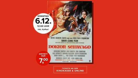 Kultkino: Doktor Schiwago, 6 December | Event in Lippstadt | AllEvents.in
