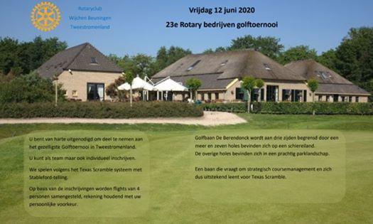 Rotary Golftoernooi 12 juni 2020