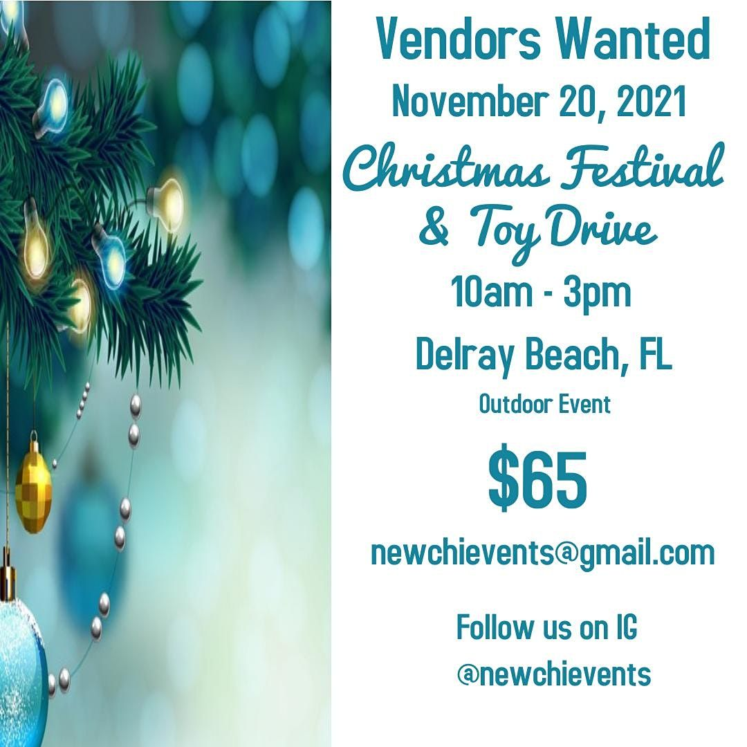 Vendors Wanted, 20 November   Event in Delray Beach   AllEvents.in