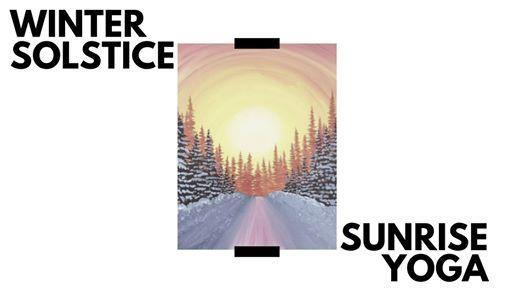 Winter Solstice Sunrise Yoga