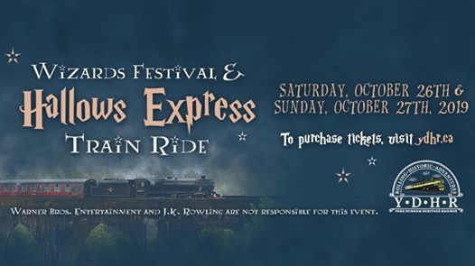 Wizards Festival & Hallows Express Train Ride