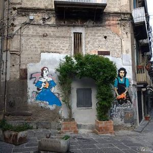 Street art tour a Montesanto e nei Quartieri Spagnoli