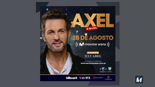 Axel en Vivo • BA, 28 August   Event in Buenos Aires   AllEvents.in