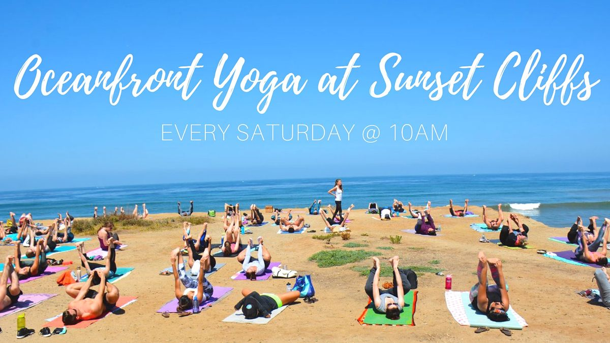 Oceanfront Yoga at Sunset Cliffs (Donation-based)   Event in San Diego   AllEvents.in
