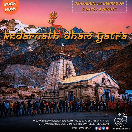 KEDARNATH DHAM YATRA 2021, 31 May | Event in Haridwar | AllEvents.in