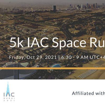 5k Space Run  IAC 2021