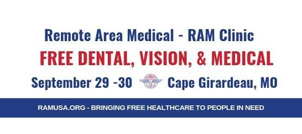 2019 Cape Girardeau, MO- Free RAM Clinic at Shawnee Park