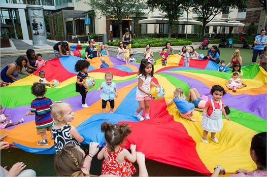 Parachute Play Time