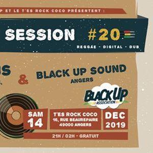 Black Up Session 20  DJ Lus & Black Up Sound