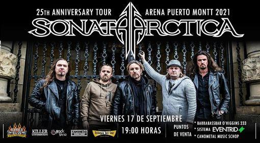 Sonata Arctica en Puerto Montt - Chile 2021, 17 September | Event in Puerto Montt | AllEvents.in