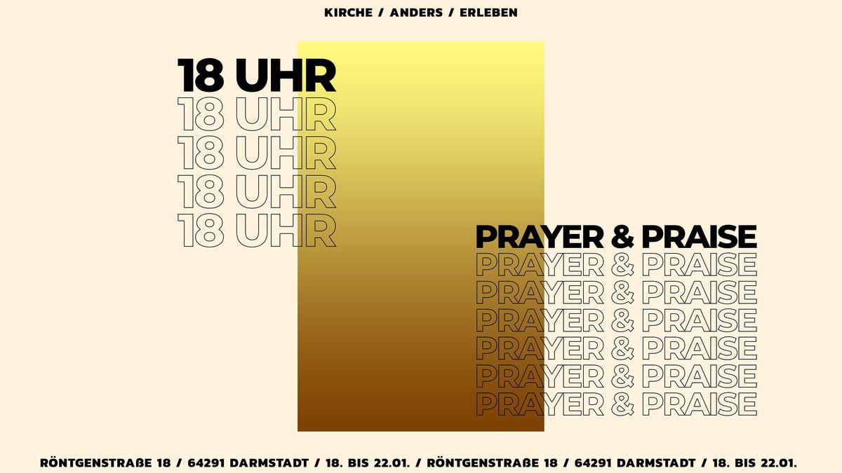 Prayer&Praise Gottesdienst - jeden Dienstag | Event in Darmstadt | AllEvents.in