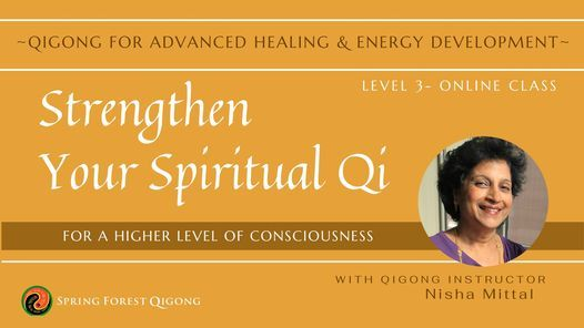 SFQ Level 3- Qigong for Advanced Energy Development & Healing Online Training Class | Event in Coralville