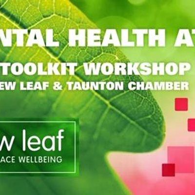 SME Mental Health at Work Online Toolkit Workshop - with New Leaf