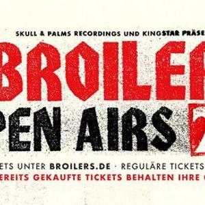 Broilers  Open Airs 2021  Essen