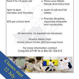 Junior Aikido Classes