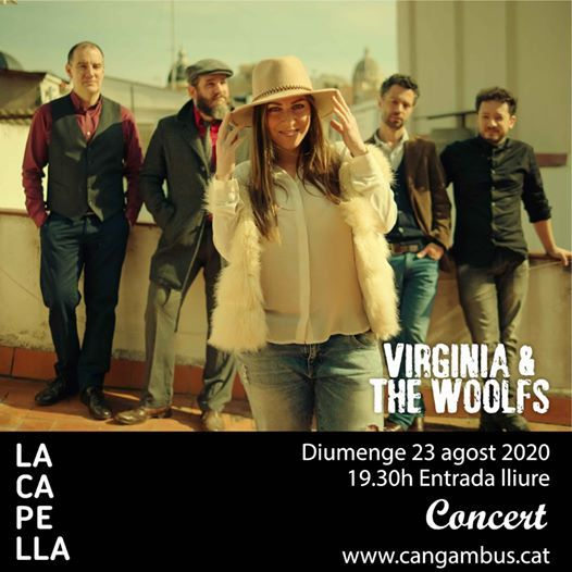 Soul a la fresca con Virginia & the Woolfs