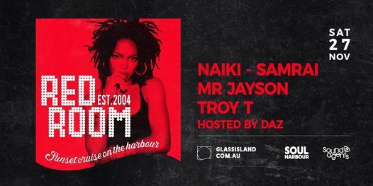 Glass Island - Red Room - Sat 27th November, 27 November | Event in Sydney | AllEvents.in