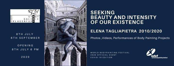 Wbf 2020 Special Exhibition By Elena Tagliapietra At World Bodypainting Festival Klagenfurt