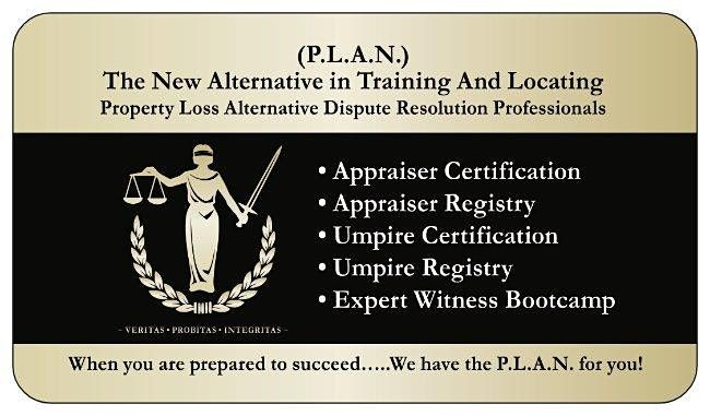 P.L.A.N. Appraiser & Umpire Certification Conference, Denver CO., 21 March | Event in Aurora | AllEvents.in