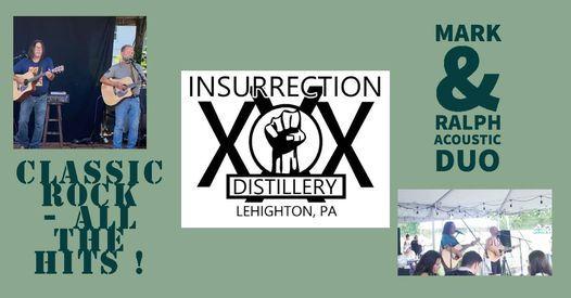 Mark & Ralph Return to Insurrection Distillery   Event in Lehighton   AllEvents.in