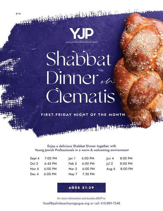 Shabbat Dinner on Clematis   Event in West Palm Beach   AllEvents.in
