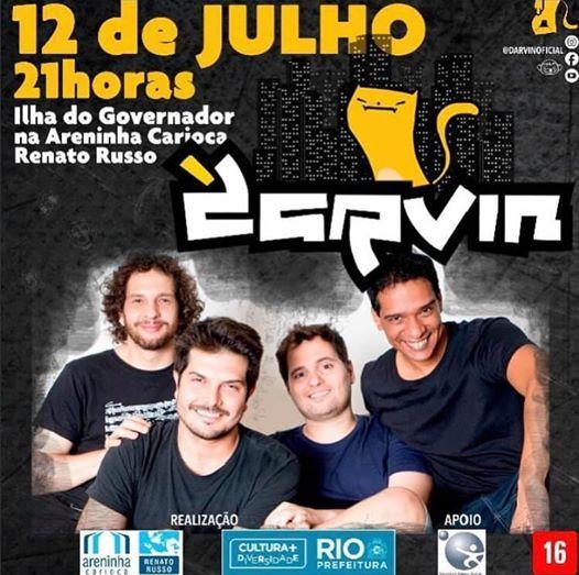 Show do Darvin no Rio de Janeiro 6 de Setembro